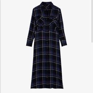Zara Dresses - Check print dress with pockets. NWT